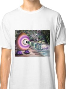 Saturated Egg Man with a Negative View Classic T-Shirt