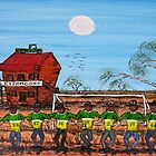 """""""World Cup Outback Aussie Style""""  Funky Original Sold by EJCairns"""