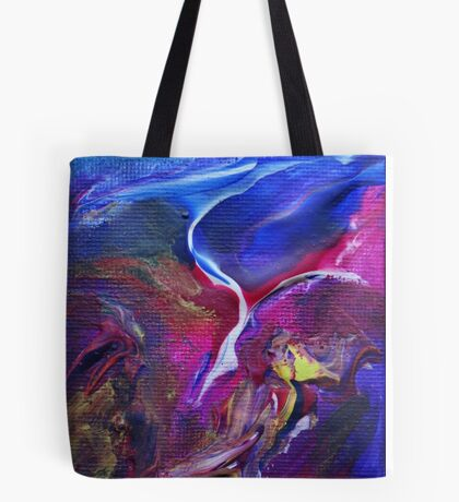 """Flyaway"" original abstract artwork Tote Bag"