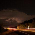stormy night  by Andrew  Landau