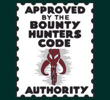 Bounty Hunters Code Authority T-Shirt