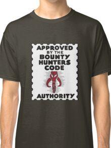 Bounty Hunters Code Authority Classic T-Shirt