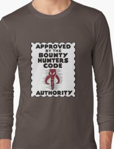 Bounty Hunters Code Authority Long Sleeve T-Shirt
