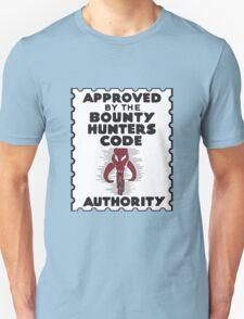Bounty Hunters Code Authority Unisex T-Shirt