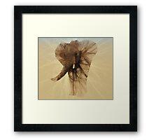 Loxodonta Africana by M.A Framed Print