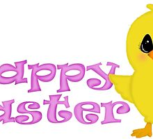 Happy Easter Chick by BeachBumFamily