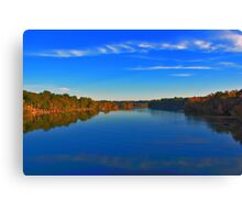 perfect blue Canvas Print