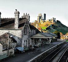 Corfe Castle Station by A90Six