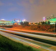 Carolina Panthers Football Stadium by Alexandr Grichenko