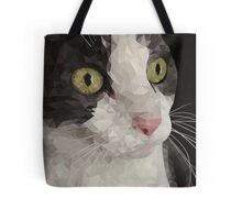 Cat PolyPortrait Tote Bag