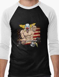 Cross fitness - Puker - USA Men's Baseball ¾ T-Shirt