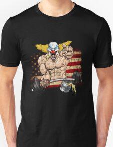 Cross fitness - Puker - USA Unisex T-Shirt