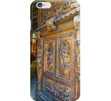 Entering the Church of St Pierre in Avignon, France iPhone Case/Skin