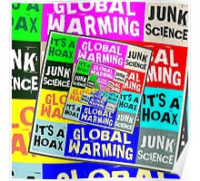 Global Warming Hoax Poster