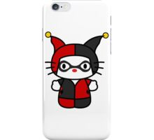 Hello Kitty - Harley Quinn iPhone Case/Skin