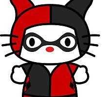 Hello Kitty - Harley Quinn by Allkustom