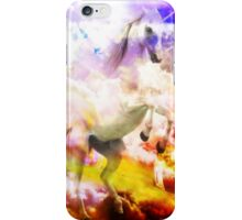 Unicorn on Clouds iPhone Case/Skin