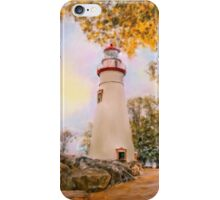 Marble Head Lighthouse iPhone Case/Skin