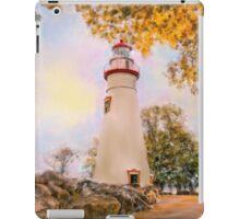 Marble Head Lighthouse iPad Case/Skin