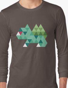 Tri-Bulbasaur Long Sleeve T-Shirt