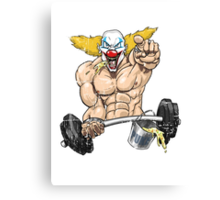 Cross fitness - Puker Canvas Print