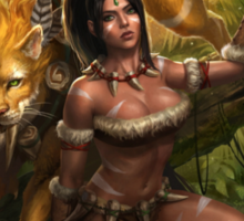Nidalee - League of Legends Sticker