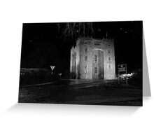 Bunratty Castl;e at night Greeting Card