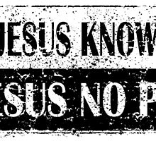 KNOW JESUS KNOW PEACE VINTAGE by tshirtchristian