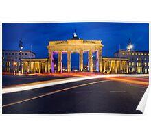 Berlin, Germany. Poster