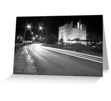 Bunratty Castle at night Greeting Card