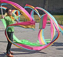 Ribbon Dance by John  Lambert