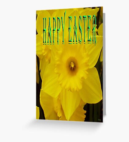 EASTER 30 Greeting Card