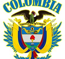 Colombia Coat of Arms by ukedward