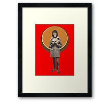 Planet Of The Apes Mod Style Framed Print