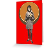 Planet Of The Apes Mod Style Greeting Card