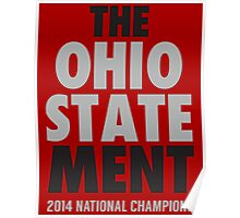 The OHIO STATEMENT Champs Poster