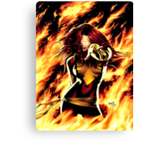Dark Phoenix Canvas Print