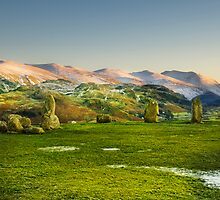 Castlerigg Stone Circle by eddiej