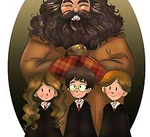 Harry Potter and Friends by doublemaximus