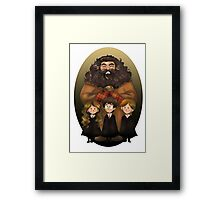 Harry Potter and Friends Framed Print