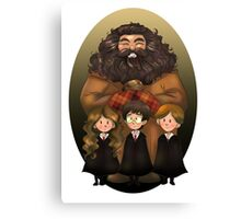 Harry Potter and Friends Canvas Print