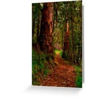 """The Pathway"" Greeting Card"