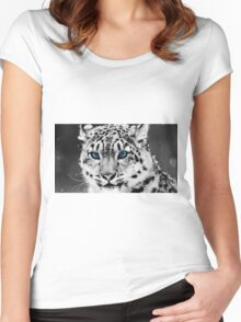 Cheetah Women's Fitted Scoop T-Shirt