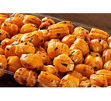 Rice cracker savory chili balls Photographic Print