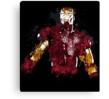 Iron Man art Canvas Print