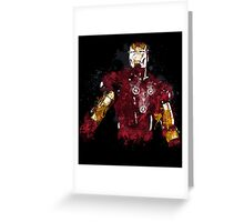 Iron Man art Greeting Card