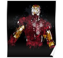 Iron Man art Poster