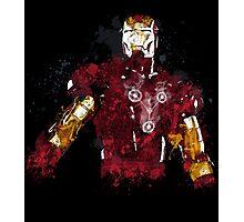 Iron Man art Photographic Print