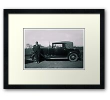 The Old Car Framed Print