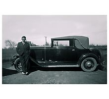 The Old Car Photographic Print